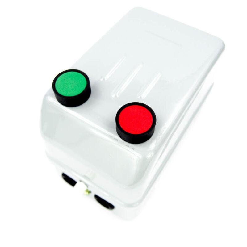 Dayton 240VAC IEC Magnetic Motor Starter 40 FL Amps 3 Poles Push button 2UXX6