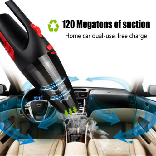 Car Vacuum Cleaner Handheld Duster For Auto Wet Dry Mini Sma
