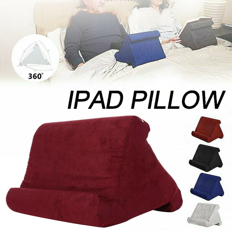 Multi-Angle Pillow Tablet Read Holder Stand Lap Rest Cushion