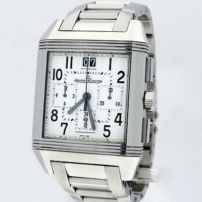 Jaeger LeCoultre Reverso Squadra Auto Chronograph GMT Watch Q7018120 230.8.45