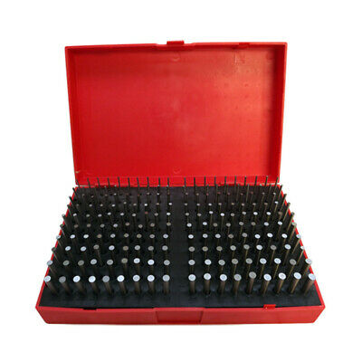 190 Pc M1061-.250 Steel Plug Pin Gage Set Minus Plus Pin Gauges Metal Gage