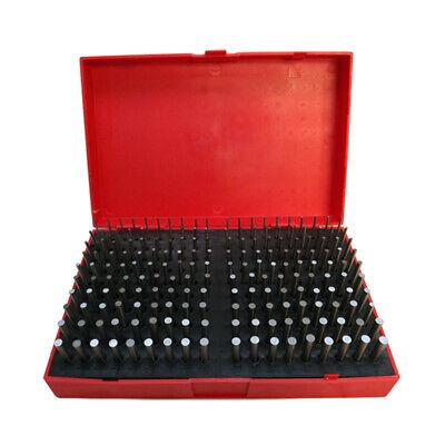 190 Pc M1061-.250 Steel Plug Pin Gage Set Minus Plus Pin Gauges Metal Gage