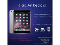 iPad 2/3/4/Air/Mini/Mini2 LCD Screen Top Glass Digitiser Repair Replacement Service Welwyn Hatfield