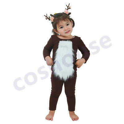 Child Deer Costume with Horns for Halloween One Size](Costumes For Baby For Halloween)
