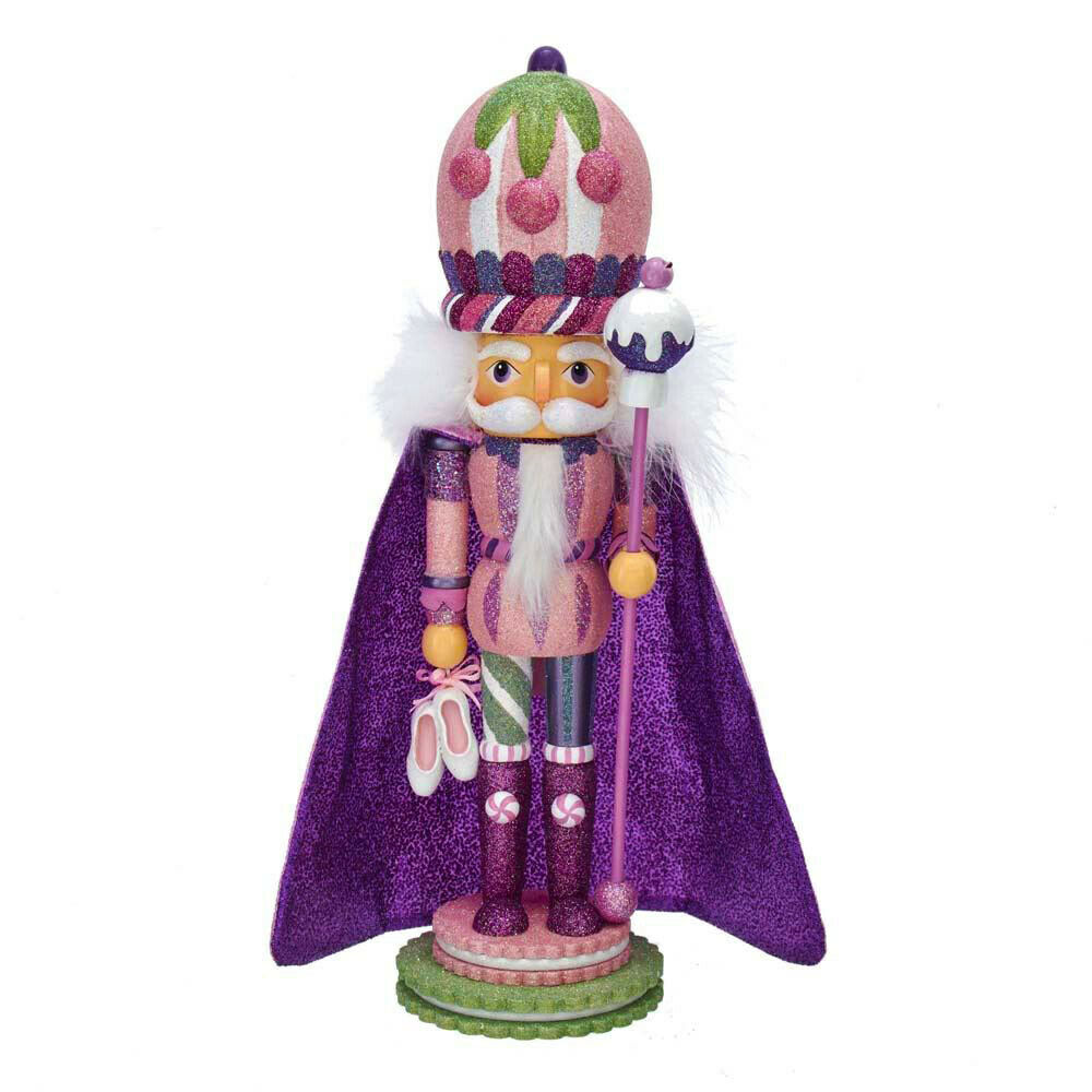 [Kurt Adler Hollywood Nutcracker Suite Sugar Plum Soldier Christmas Nutcracker  </Title]