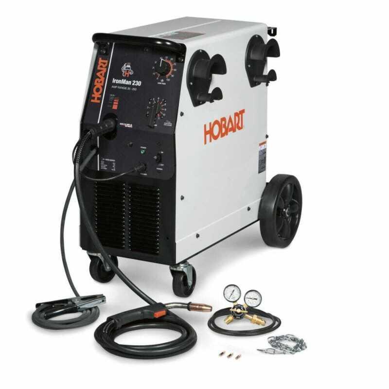 Hobart-500536 Ironman 230 200/230V MIG Welder