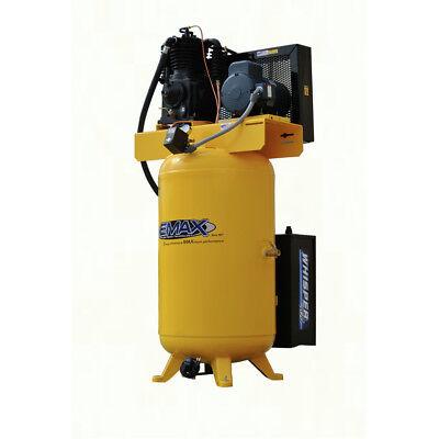 Emax Esp05v080i1 5 Hp 80 Gal. Vertical Stationary Electric Air Compressor New