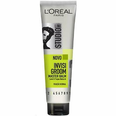 L'oreal Studio Line Invisi Groom Taming Balm Natural Look Hair Gel -