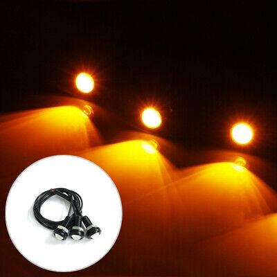 3pcs LED Amber Grille Lighting Kit Universal Fit Truck SUV Ford SVT Raptor