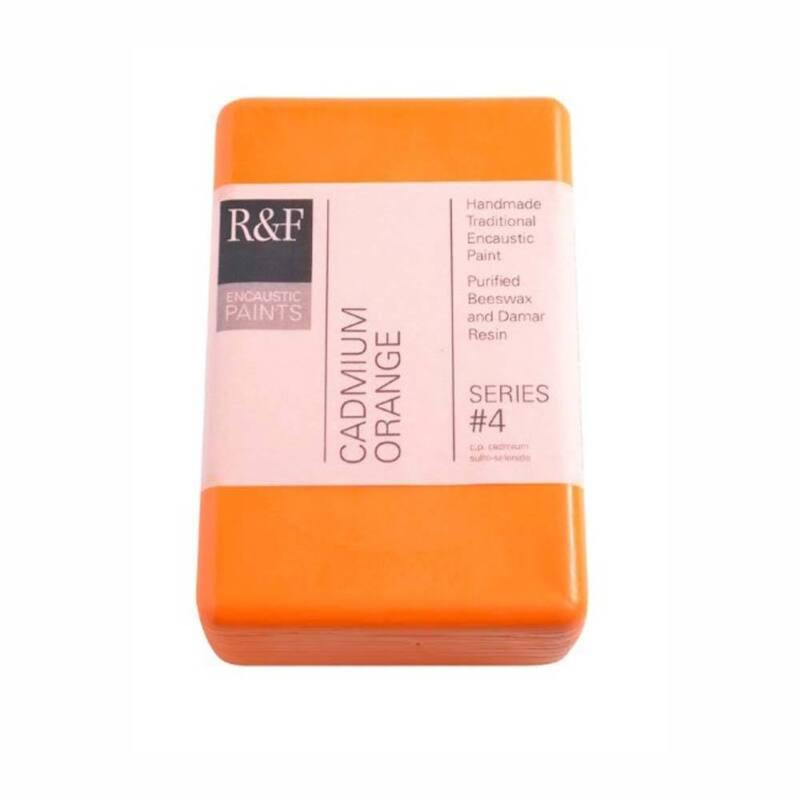R&F Encaustic 333Ml Cadmium Orange