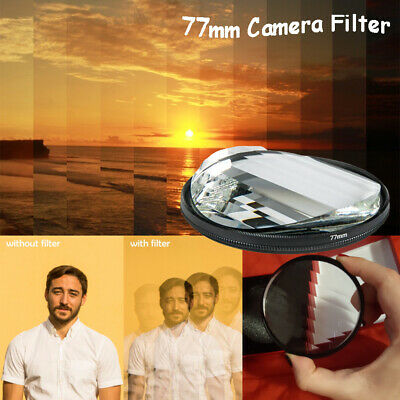 77mm Camera Filter Glass Rotating Linner Prism Variable No. of Shooting Objects
