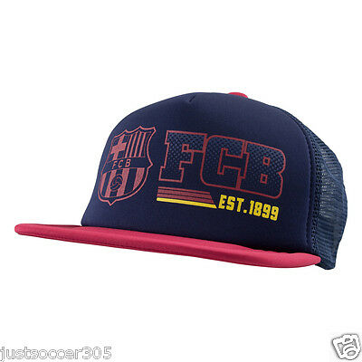 Fc Barcelona Cap Trucker Hat