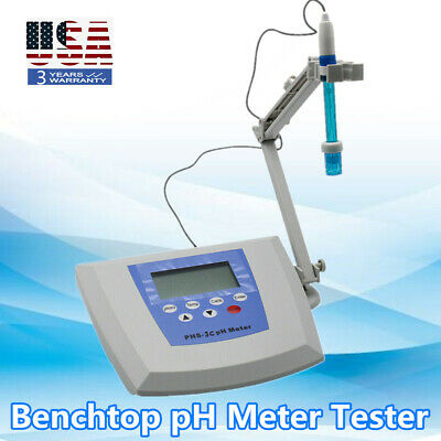 Lab Instruments Benchtop Ph Meter Measuring Instrument Tester -1800 1800 Mv