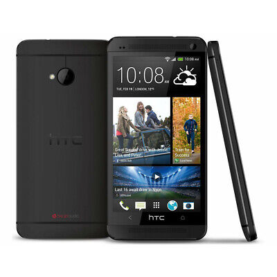 4.7'' HTC One M7 Android Smart Phone Factory Unlocked 32GB Mobile + Warranty New