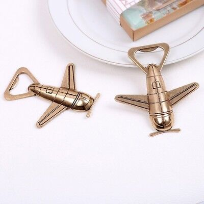 Party Favors Gift Wedding Bottle Opener Wine Beer Airplane - Wine Party Favors