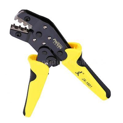Ratchet Terminal Wire Crimper Crimping Pliers Tool 3.96-6.3mm 26-16awg Us N8s6