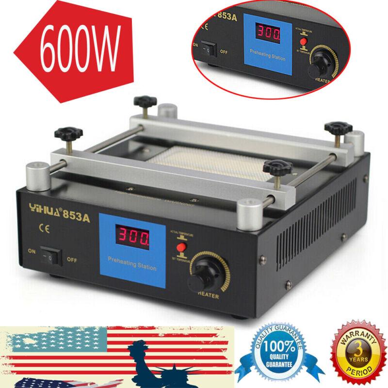 Infrared BGA Rework Station SMD Preheating Solder 600W Power Functional Hot Air