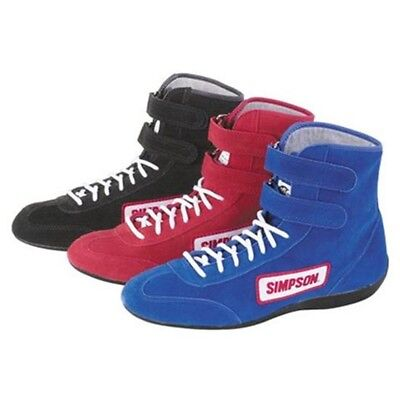 Simpson High-Top Driving Shoe - All Sizes (5 - 14) & Colors - SFI 3.3/5