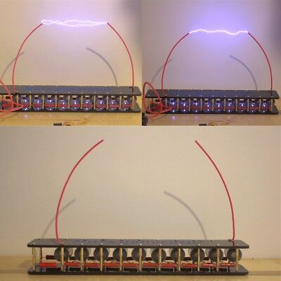 10grades Marximpulse Voltagepulse High Voltage Generatortesla Coil Diy Kit