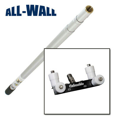 Columbia Drywall Outside 90-degree Corner Bead Roller W3-8 Ft. Extension Handle
