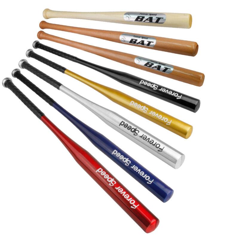 Aluminum/Holz Baseball Bat Baseballschläger Softballschläger 24-36 Zoll