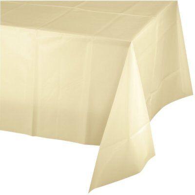 Disposable Tablecloths (Mountclear 12-Pack Disposable Plastic Tablecloths 54