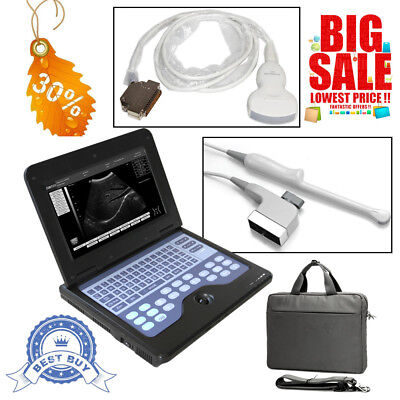 Portable Laptop Ultrasound Scanner Machine Convextransvaginal 2 Probes Cms600p2