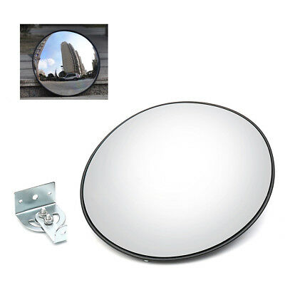 12 Wide Angle Mirror Security Convex Mirror Outdoor Road Traffic Driveway Safe