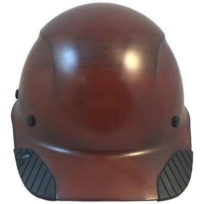 Lift Dax Composite Fiberglass Natural Tan Cap Style Hard Hat Ratchet Susp