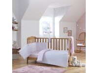 Brand New Clare De Lune Cot Bedding Set