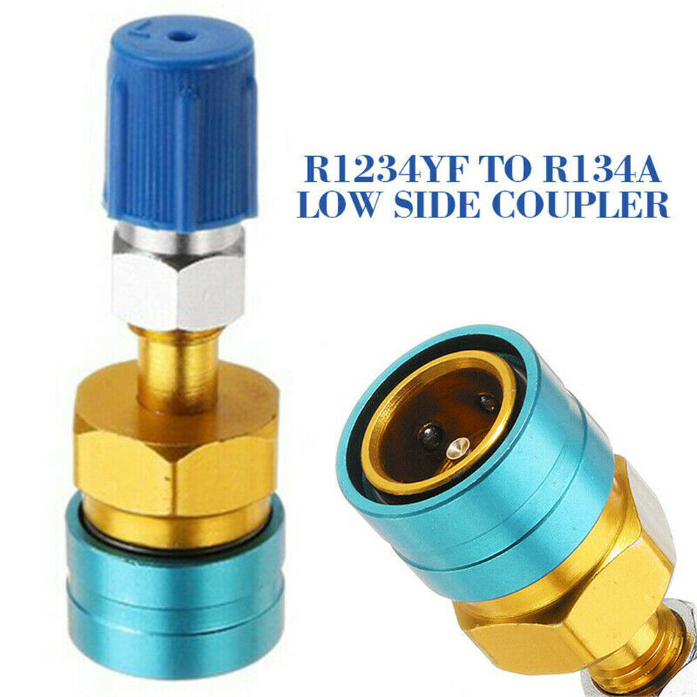 1Pcs R1234YF LOW SIDE COUPLER TO R134A Adapter Quick Fitting Coupler#3630 new !