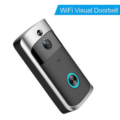 Smart Wireless WiFi Security DoorBell Smart Video Phone Door Visual Recording IR