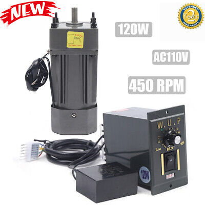 Geared Motor Speed Controller Gear Motor Electric Variable Speed Smooth 120w 13