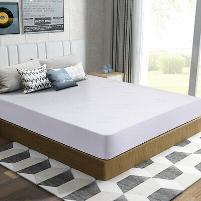 Mattress Box Spring Cover Protector Bed Bug Hypoalergenic Encasement USA (Bed Bug Mattress And Box Spring Protector)