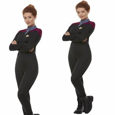 Star Trek Voyager Command Uniform Maroon Damen Film - Star Trek Voyager Uniform Kostüm