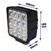 DRIVING / REV / WORK LIGHTS 12 - 24V, 48W LED Newcastle 2300 Newcastle Area Preview