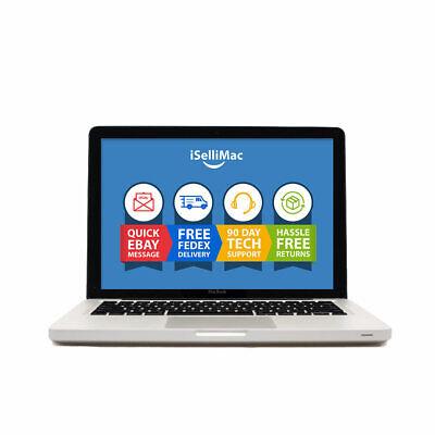 "Apple 13"" MacBook 2008 2.0GHz Core 2 Duo 160GB HDD 2GB MB466LL/A +B Grade"
