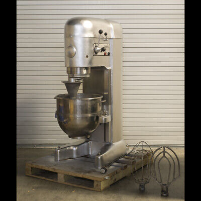 Hobart M802 80qt Industrialcommercial Mixer 230v 3p 2hp 1976 Tested Good