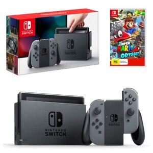 Brand-New Nintendo Switch w/ Mario Odyssey+Case ...