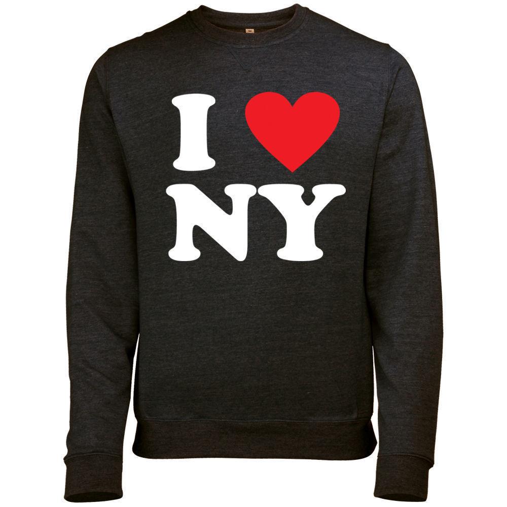 I Heart NY I Love New York Souvenir  PULLOVER SWEATSHIRT  Unisex gift