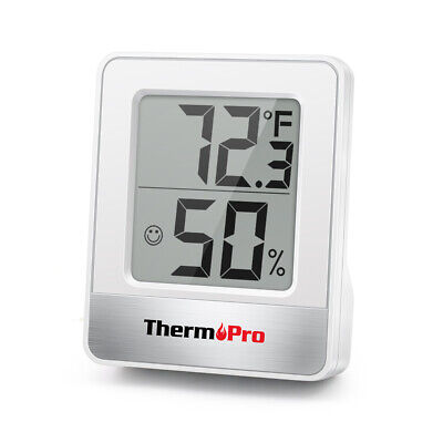 Mini Thermopro Lcd Digital Indoor Hygrometer Thermometer Humidity Monitor Meter