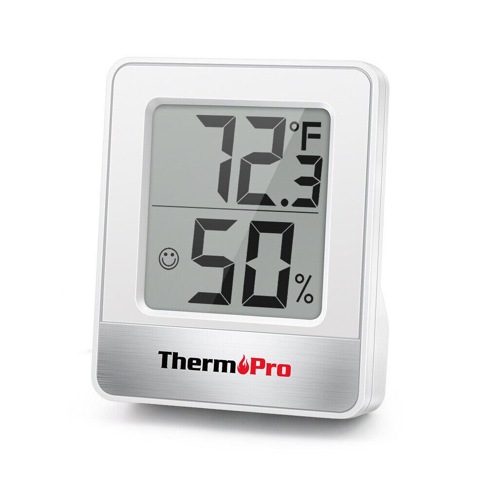 Mini ThermoPro LCD Digital Indoor Hygrometer Thermometer Hum