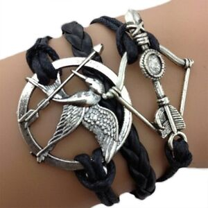 Infinity Hunger Games Bow And Arrow Bracelet