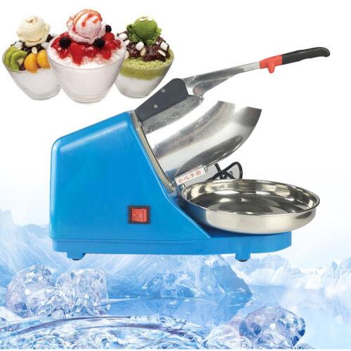 Ice Crusher Eiswürfelmaschine Eiswürfelbereiter Eiswürfel Eiscrusher Drinks Blau