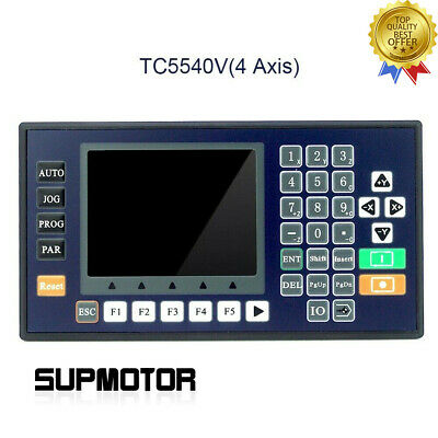 4 Axis Cnc Motion Controller W3.5-inch Color Lcd For Router Servo Stepper Motor