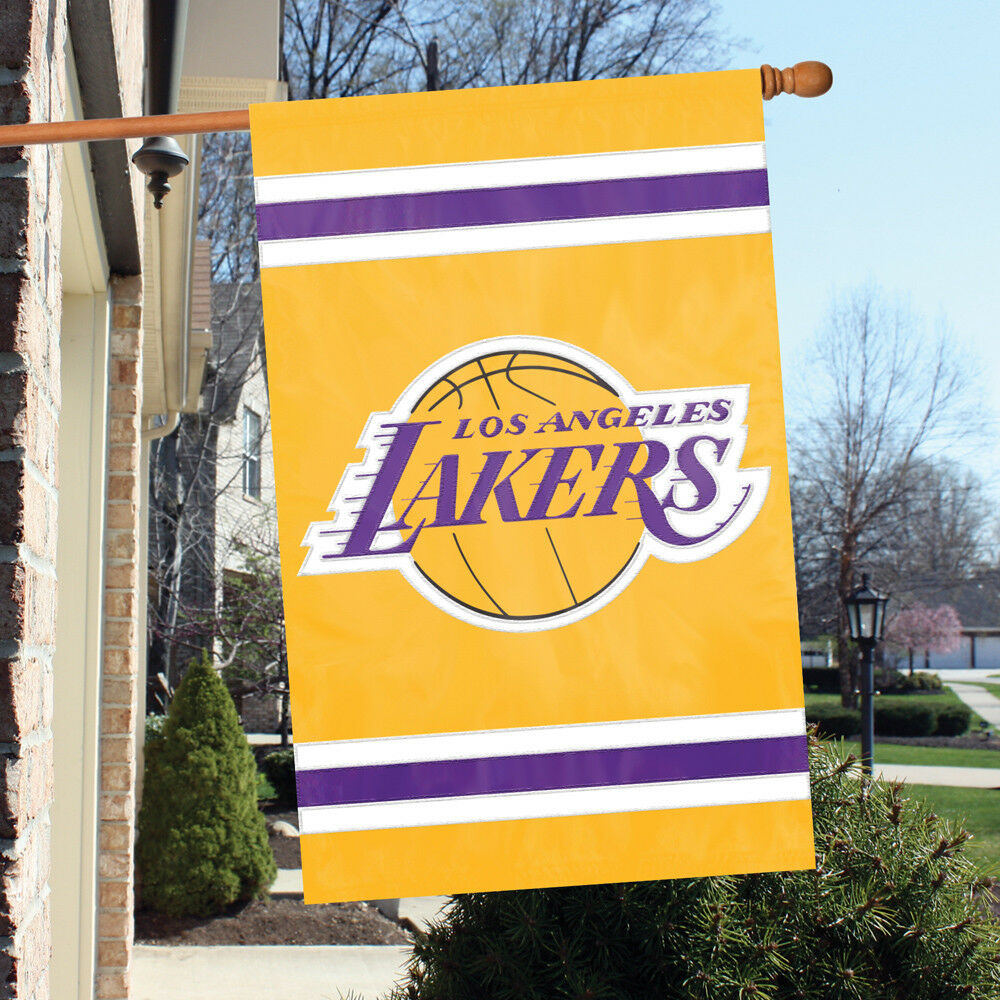 Party Animal Los Angeles Lakers Banner NBA Flag