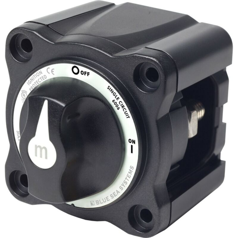 Blue Sea 6006200 BATTERY SWITCH TWO POSITION