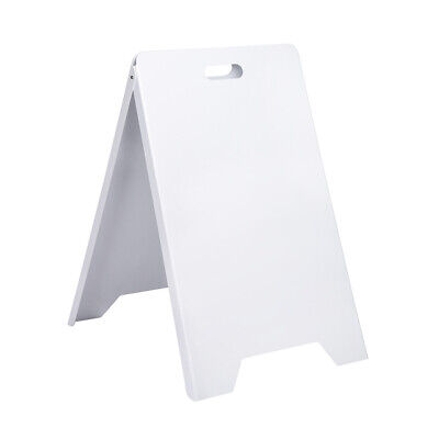 Portable Foldable A-frame Double-sided Pvc Sign Board Stand Sidewalk Holds