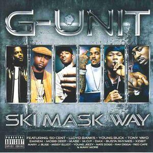 G-Unit Ski Mask Way - 50 Cent, Eminem, Young Buck, Murder Mase  - CD