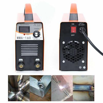 Mini Igbt Arc Welding Machine Mma Electric Welder 110v 20-120a Dc Inverter Yello